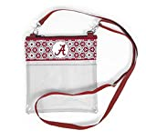 Desden Alabama Crimson Tide Clear Gameday Crossbody Bag