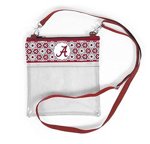 (Desden Alabama Crimson Tide Clear Gameday Crossbody Bag )