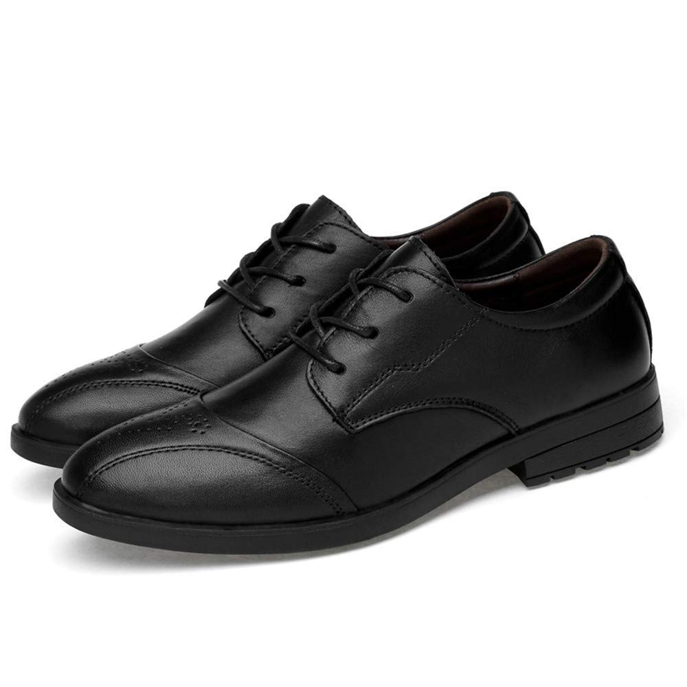 2018 Herren Business Oxford Casual Casual Casual Einfache Klassische Runde Kopf Formelle Schuhe (Farbe   Schwarz, Größe   42 EU) (Farbe   Schwarz, Größe   41 EU) 8f1b2f