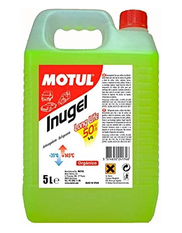 MOTUL Inugel Long-Life 50% G12 amarillo 5L