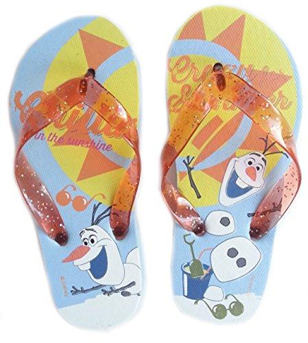 Frozen Disney Badelatschen Zehentreter Strand Schuhe Die Eiskönigin
