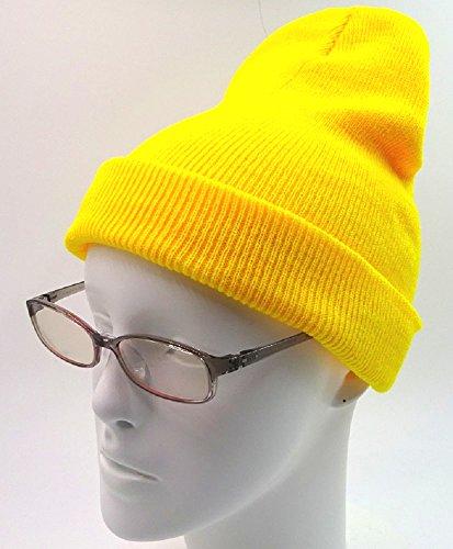 消毒剤反毒ピル(京都 おかげさまで) ニット帽子 軽量 シンプル ワッチキャップ 無地
