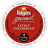 Folgers Coffee, Lively Colombian K-Cups, 24-Count cup, 216g