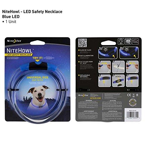 Nite Ize NiteLife LED Necklace - Bright, Reusable Glow Necklaces With LED Technology