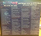 Karaoke DVD Value Pack Hits of the 80s, 90s, 2000s Party Pack Over 300 Tracks on 12 DVDs