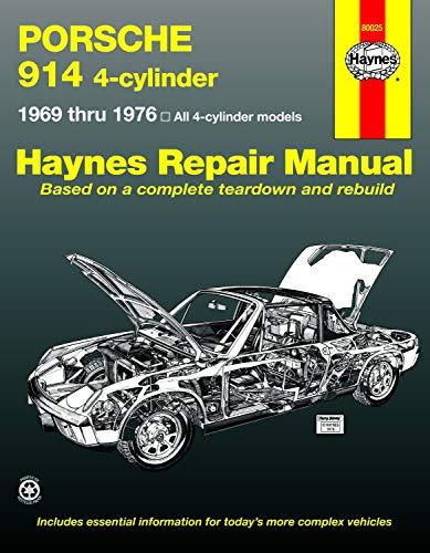 porsche 914 service manual - 1