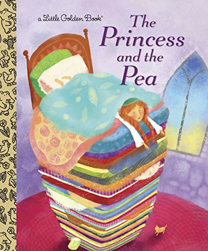 Princess Pea Fairy Tale - The Princess and the Pea (Little Golden Book)