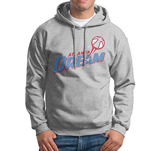 MARC Men's Atlanta Dream Sweatshirt Ash Size S