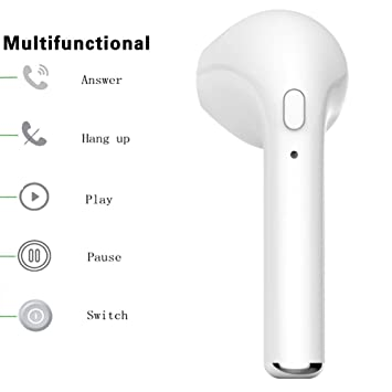 BAIYI - Auriculares in-ear inalámbricos para Apple iPhone 7, 8, iPhone X