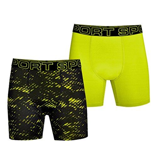 Watson's Boy's 2 Pack Pro Sport Performance Underwear, Multi, X-Large by Watson's