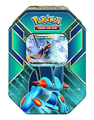 Swampert Hoenn Power Tin (Pokmon Trading Card Game)