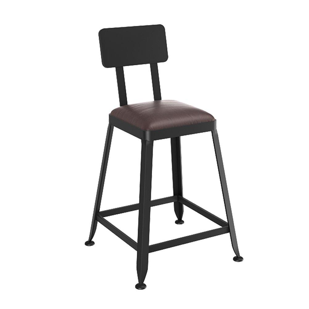 4 40cm Modern European Vintage Bar Stool Low Footstool Industrial Style Garage Workshop Seat (color   3, Size   40cm)