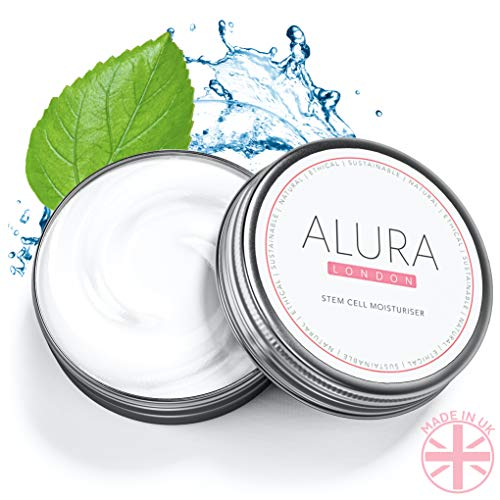 51VfG9z0vuL - ALURA Natural Anti-Aging Hyaluronic Acid Moisturizer | 2.0 Fl Oz Stem Cell Face Cream | Vegan Skin Care In Aluminum Packaging | Animal Cruelty-Free | No Parabens or Sulphates | Made In The U.K.