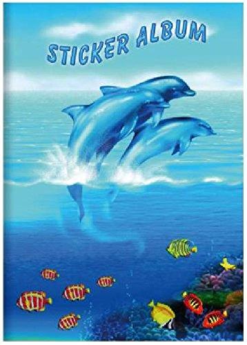 Stickeralbum A5 hoch Delfine HERMA 6687 16Seiten