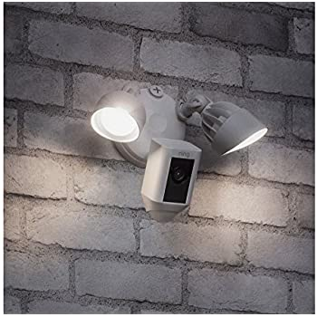 Ring Floodlight Security Camera Wide Angle Hd Two Way Talk