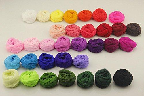 Multicolor Flower Nylon Stocking Material Accessory Handmade Diy Nylon Flower Stocking(30Pcs/Lot) -