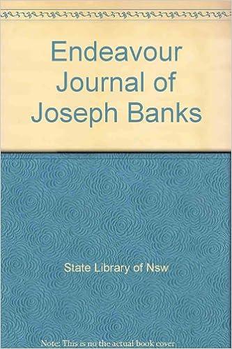 E-kirjat maksuttavat e-kirjat ladattaviksi Endeavour Journal of Joseph Banks PDF
