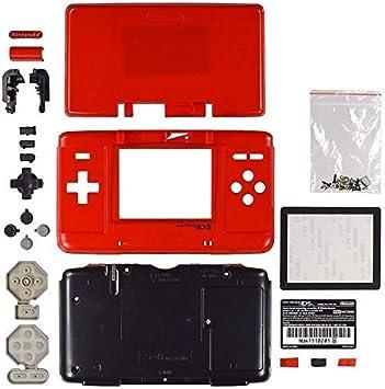 Carcasa de Repuesto para Consola Nintendo DS NDS Rosso ...