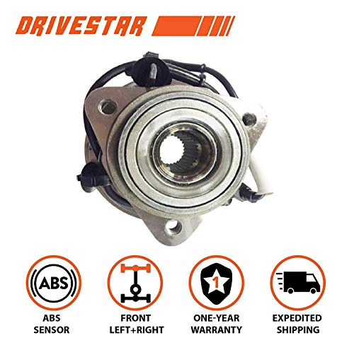 DRIVESTAR 515003 Front Wheel Hub & Bearing Assembly for a Ford Mazda Mercury 4WD AWD w/ABS