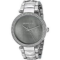 Michael Kors Parker de la mujer Silver-tone Reloj mk6424