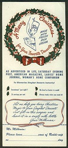 reddi-wip-whipped-cream-milkman-request-christmas-bottle-tag-1950s-unused