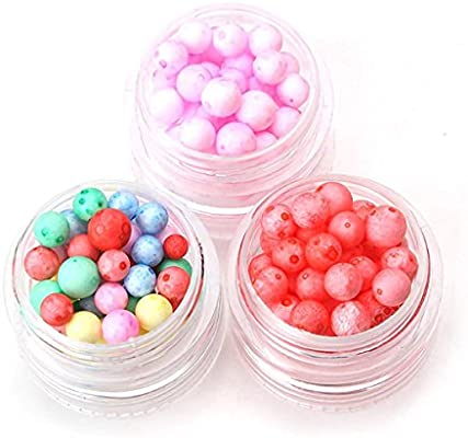 Wedding and Party Decoration 1pack Kids Craft HENGSONG Foam Balls for Slime Colorful Styrofoam Balls Beads Mini 0.11inch Decorative Ball Arts DIY Crafts Supplies for Homemade Slime Black