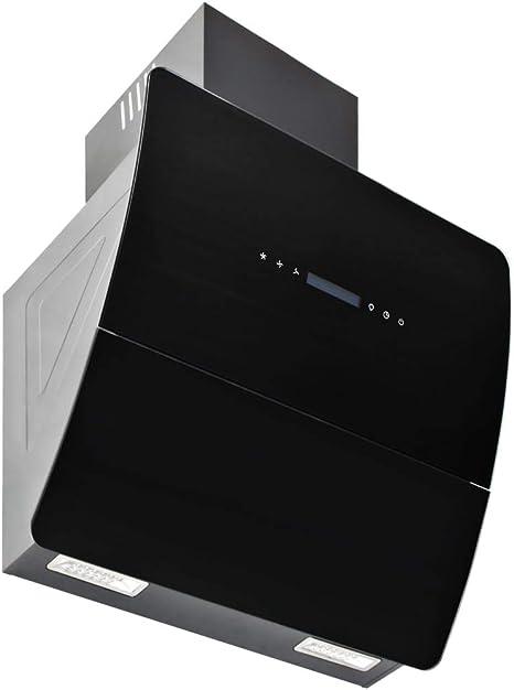 tuduo campana en la pared de acero inoxidable 756 M3/h 60 cm negra Campanas extractoras Campanas cocina: Amazon.es: Grandes electrodomésticos