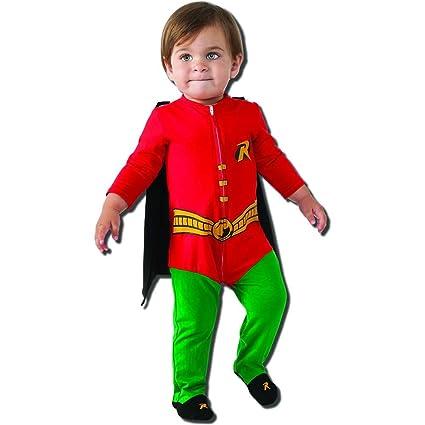Batman Robin Onesie Baby Costume - Newborn  sc 1 st  Amazon.com & Amazon.com: Batman: Robin Onesie Baby Costume - Newborn: Toys u0026 Games
