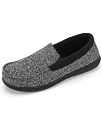Men's Moc Slipper with SILVADUR Anti-Odor Fabric