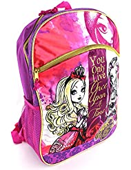 Ever After High Purple 16 inch Backpack