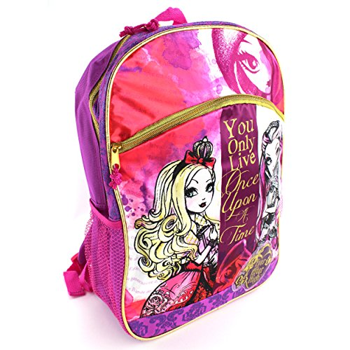 Ever After High Purple Backpack