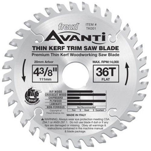 Freud TK001 Avanti 4-3/8-Inch 36 Tooth F - 3/8