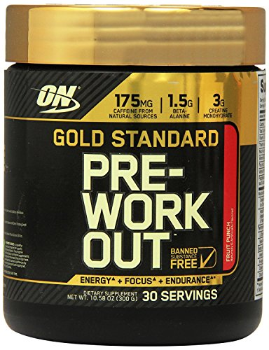 Optimum Nutrition GS Pre-workout Fruit Punch 30 Servings