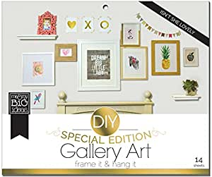 me & my BIG ideas DIY Gallery Art, Isn't She Lovely, Special Edition