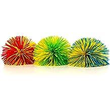 Impresa Products 3-Pack of Monkey Stringy Balls (Latex-Free, BPA/Phthalate-Free) - Great Fidget / Stress / Sensory Toy