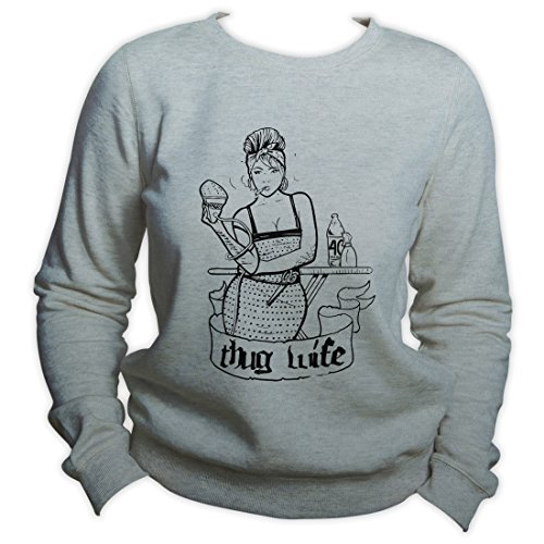 Thug Wife Sweatshirt Bridal Gift Loyal Sweater Wedding Gift Wife Gift Crewneck
