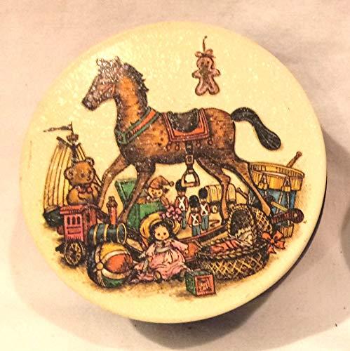 Tiny Tin, Rocking Horse Christmas Tin 3