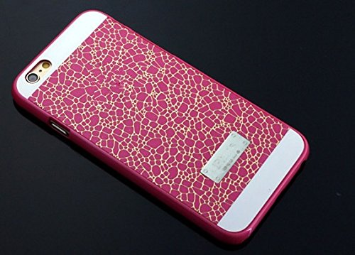 Iphone Hülle für Appel Iphone 6 Cover Case Schutz Tasche Hard Case Pink -ACAccessoires
