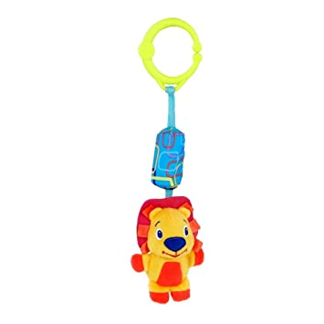 Hippo Bright Starts Chime Along Friends Choice of Hippo Or Lion
