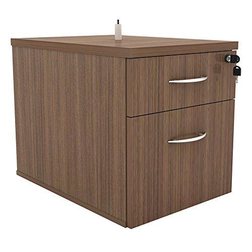 EURWAY Skye Hanging File Cabinet | Walnut