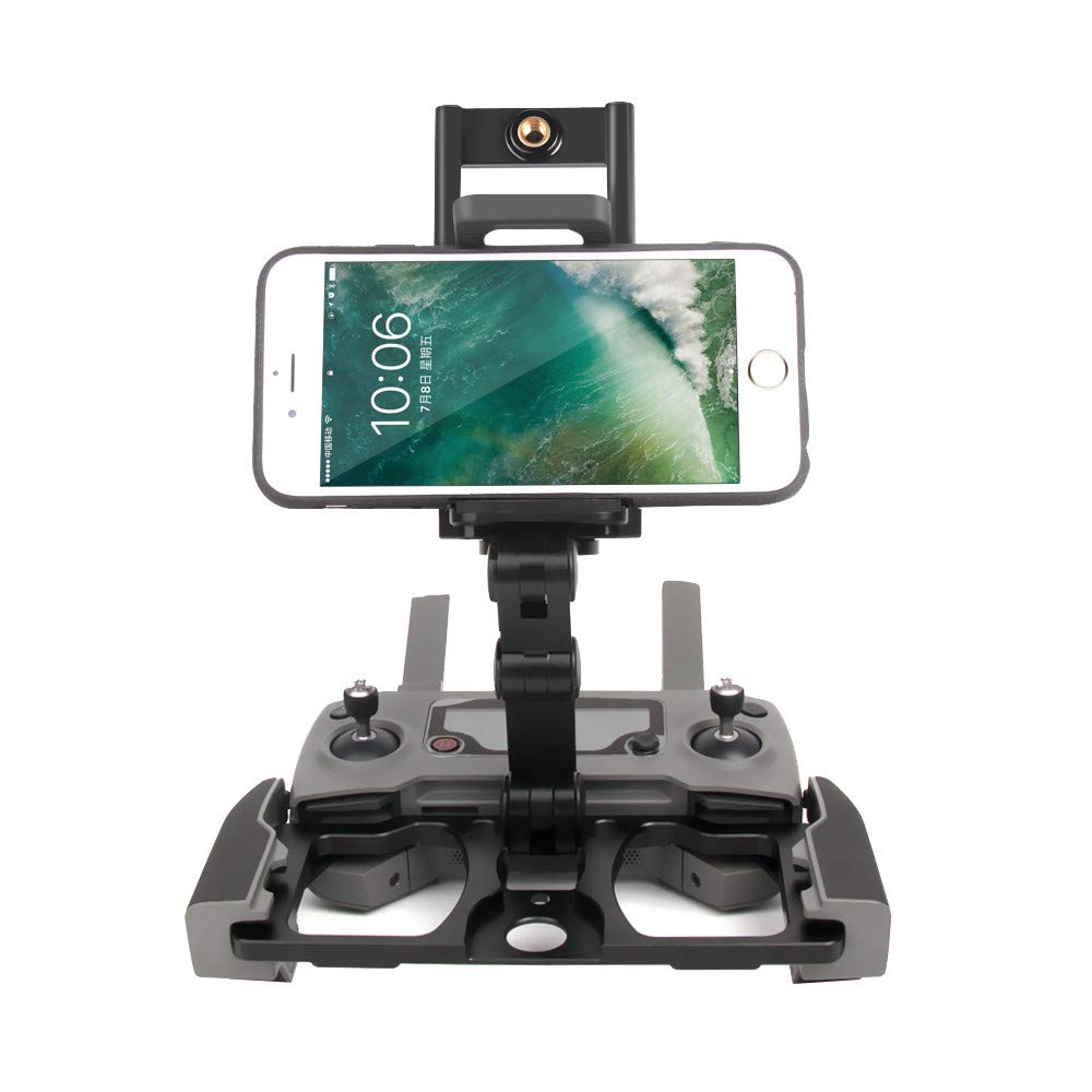 Sandistore for DJI Mavic 2 Zoom Drone Accessories, Remote Controller Smartphone Tablet Clip Holder for DJI Mavic PRO/Mavic AIR/Spark CrystalSky Monitor (with CrystalSky Monitor Stand Black) by Sandistore Sport (Image #4)