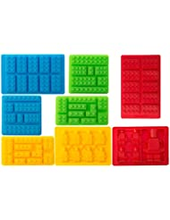 Bargain Paradise Silicone Molds Building Blocks and Robots, S...