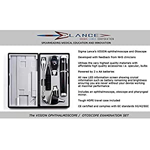 Professional Travel Otoscope Auroscope with accessories from Sigma Lance