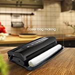 MOOKA Vacuum Sealer 2 IN 1 Vacuum Sealing System with Cutter