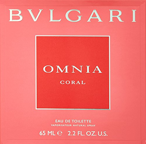 Bvlgari Omnia Coral Eau De Toilette Spray for Women. EDT 2.2 Fl Oz, 65 ML