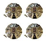 xd series rims chrome - 4 x KMC XD Series 778 Monster Chrome Wheel Rim Center Cap 846L215