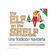 The Elf on the Shelf Libro con Duende Niño en Español