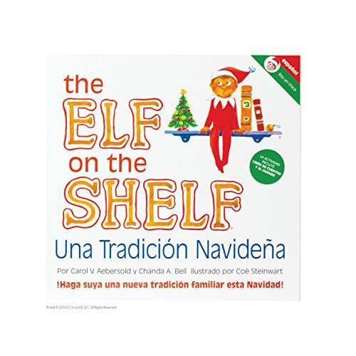The Elf on the Shelf Libro El Elfo en el Estante para Niño, Español