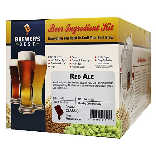 Red Ale Homebrew Beer Ingredient Kit by Brewer's Best