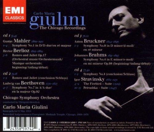 Carlo Maria Giulini- The Chicago Recordings
